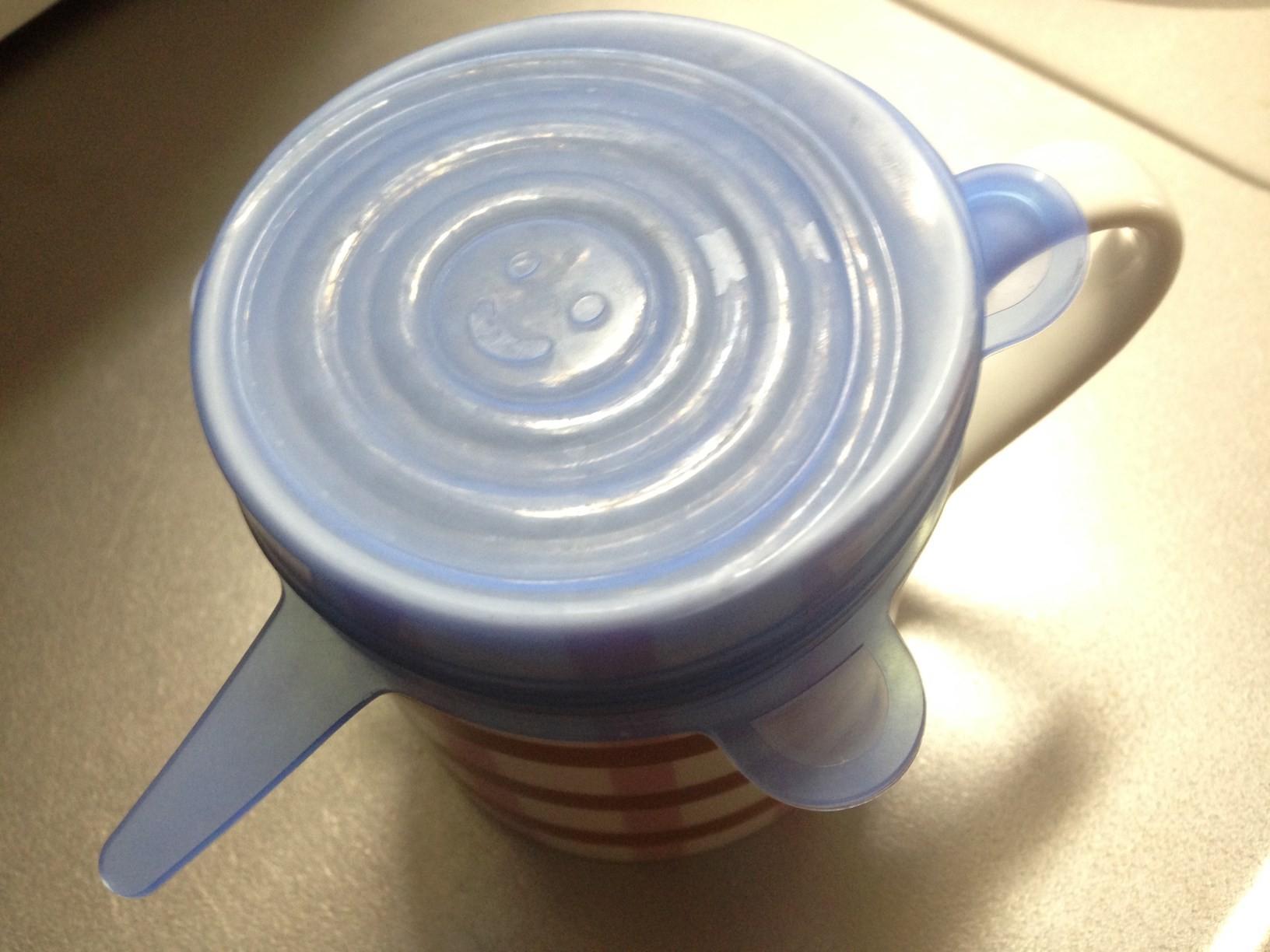 シリコンラップと取っ手付きマグカップ