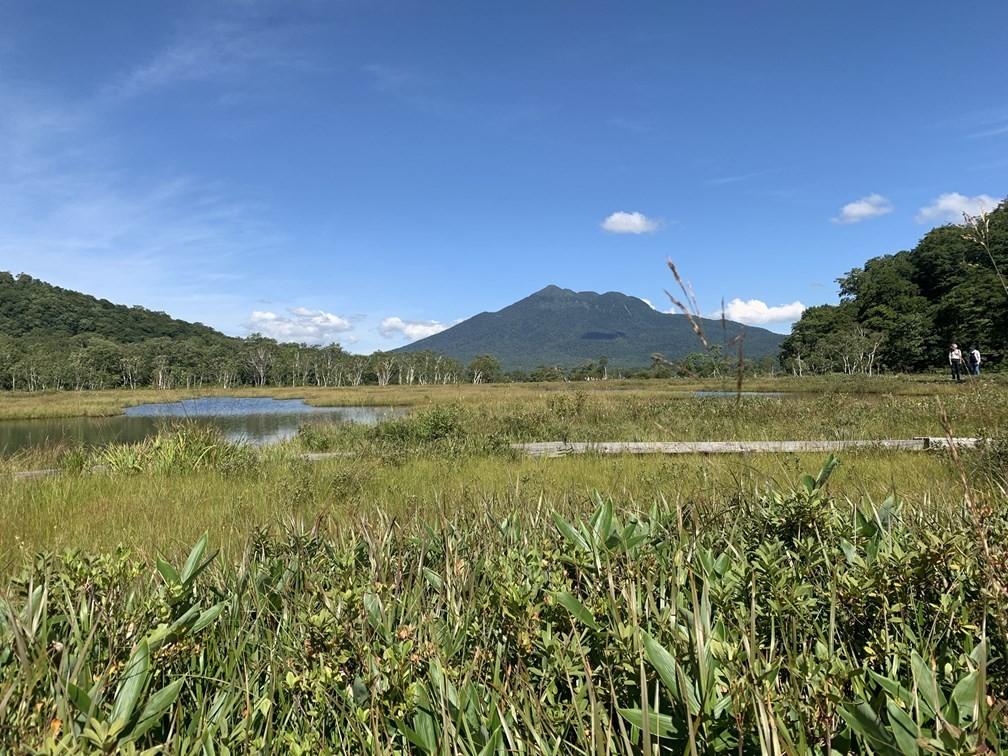 9月の尾瀬:尾瀬ヶ原付近の風景